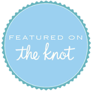 Jaime DiOrio Wedding Photographer badge featured on the knot.png