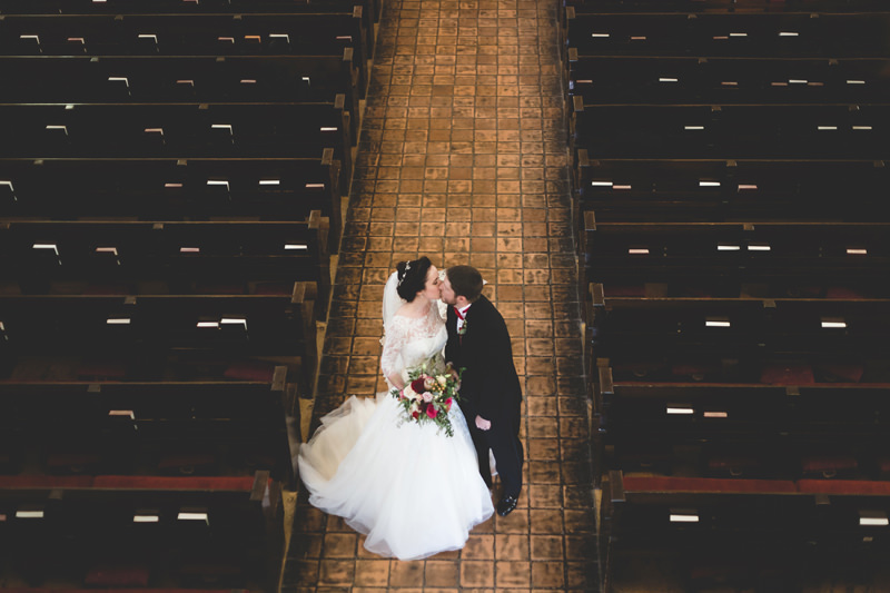 Wedding at Knowles Memorial Chapel on Rollins College Campus