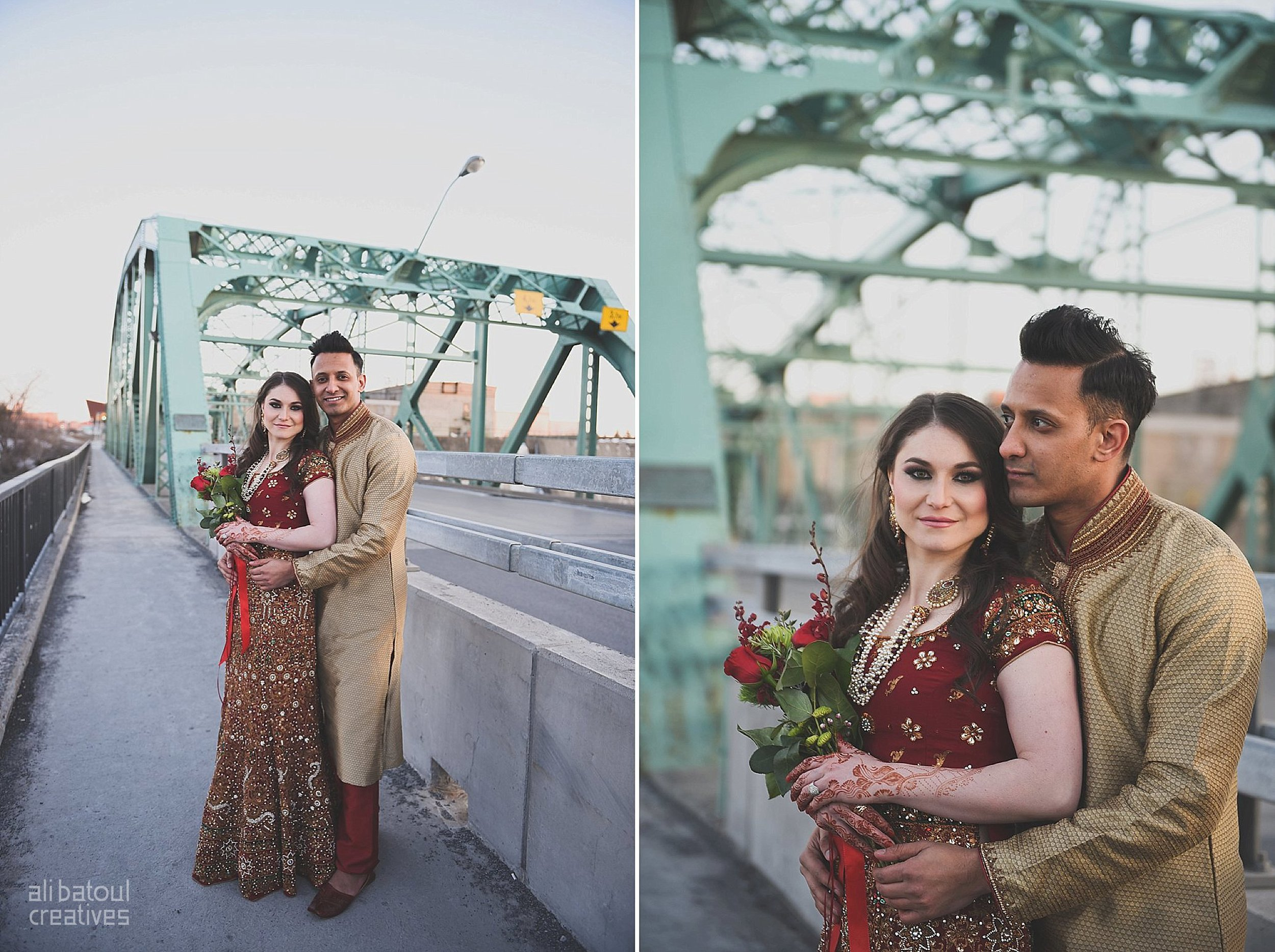 Indian-inspired bridal shoot - Ali Batoul Creatives (red)-39_Red Dress (BTS)