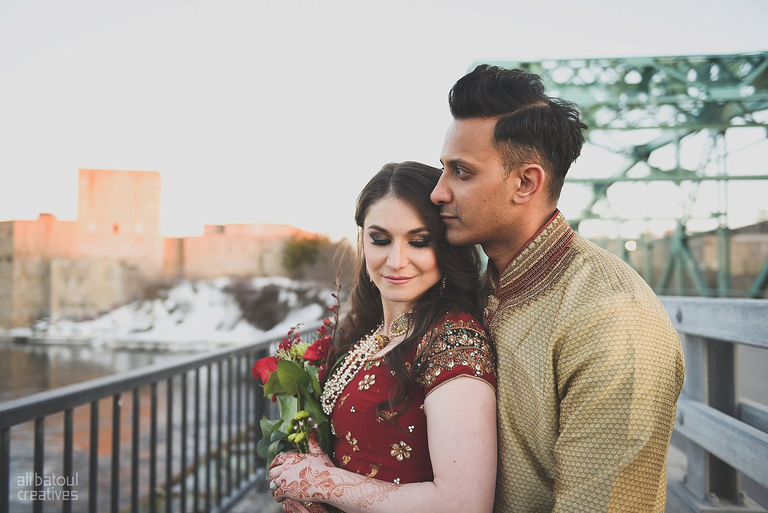 Indian-inspired bridal shoot - Ali Batoul Creatives (red)-44_Red Dress (BTS)