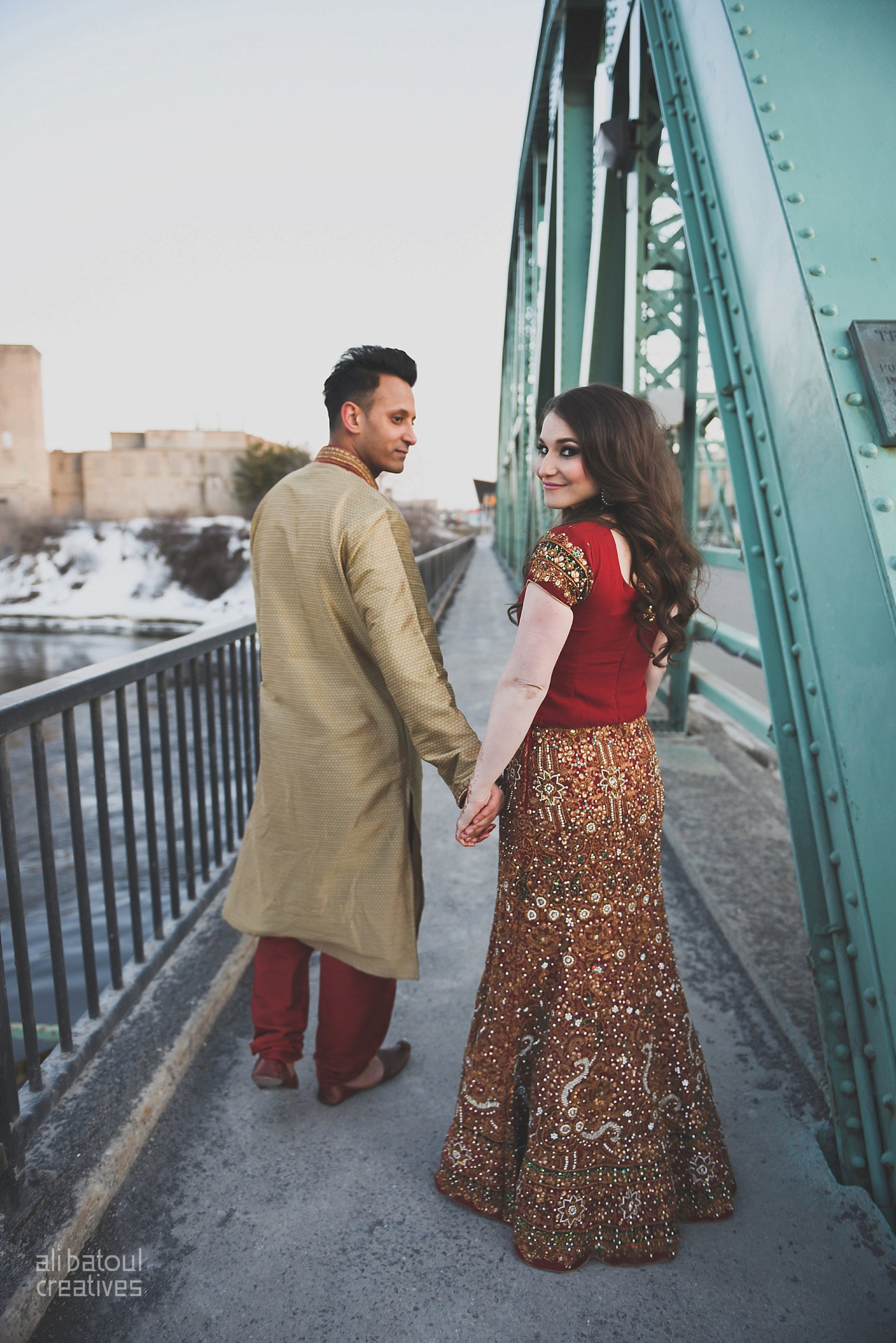 Indian-inspired bridal shoot - Ali Batoul Creatives (red)-95_Red Dress (BTS)