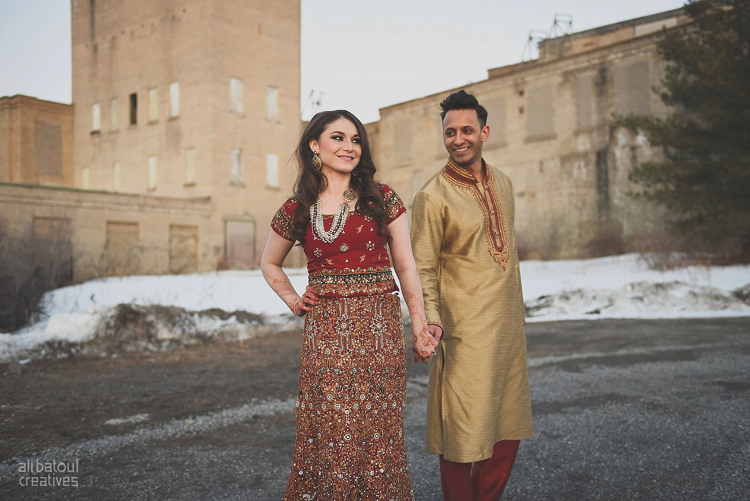Indian-inspired bridal shoot - Ali Batoul Creatives (red)-132.pg_Red Dress (BTS)