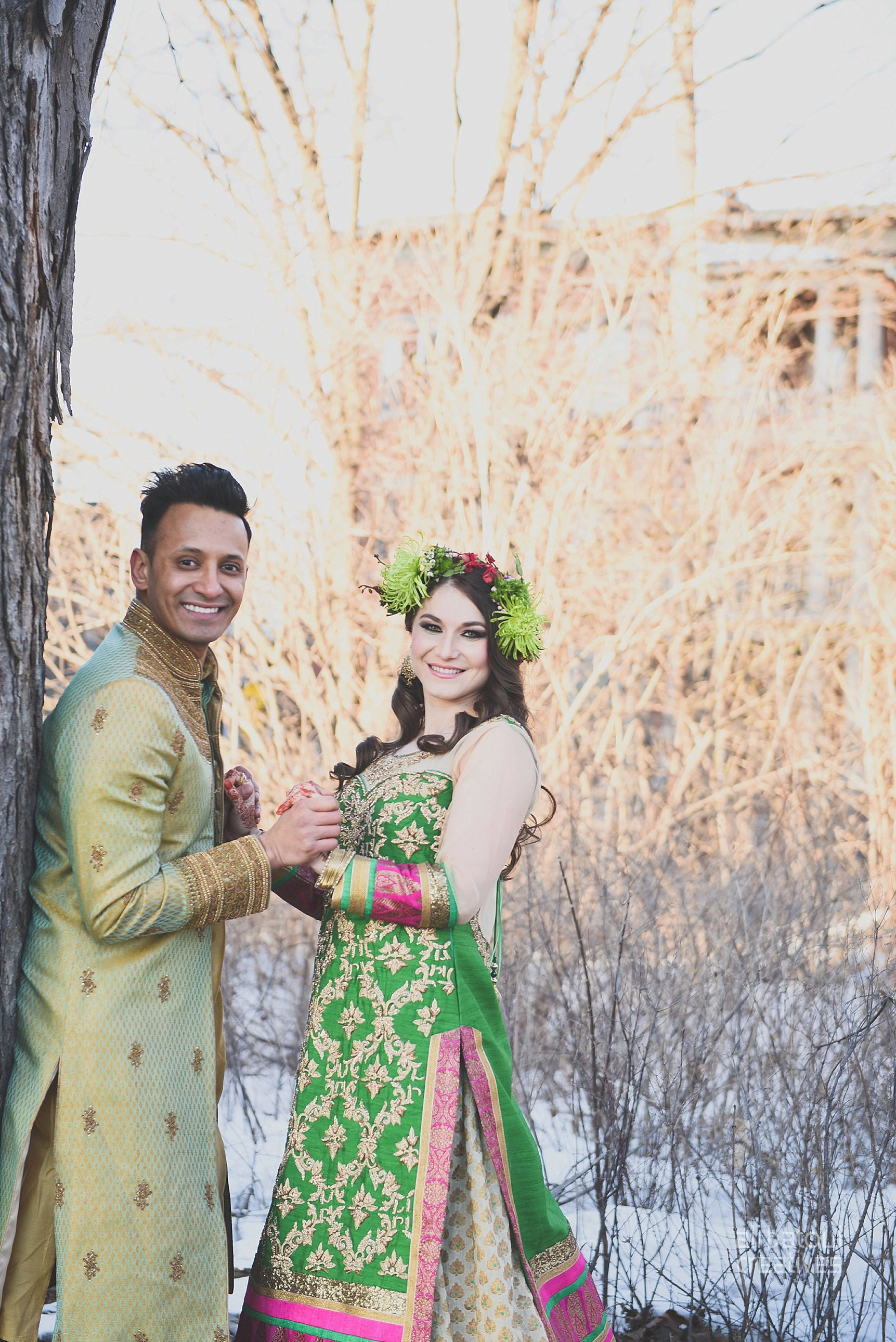 Indian-inspired bridal shoot - Ali Batoul Creatives-317_Green_Red Dress (BTS)