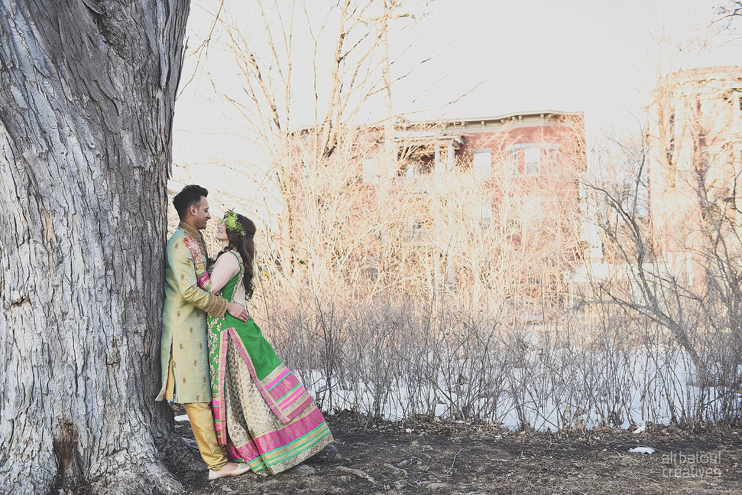 Indian-inspired bridal shoot - Ali Batoul Creatives-326_Green_Red Dress (BTS)