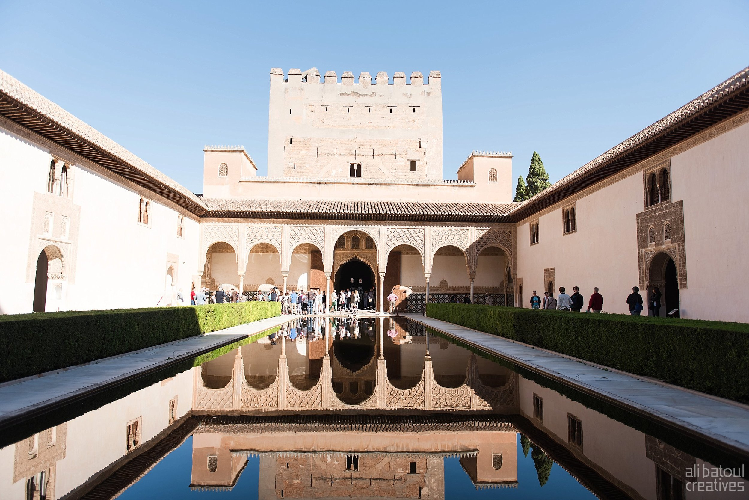 The architectural highlight of Granada are the palaces inside alhambra. The arabic inscriptions and geometric shapes and patterns were insanely beautiful and unmatched!