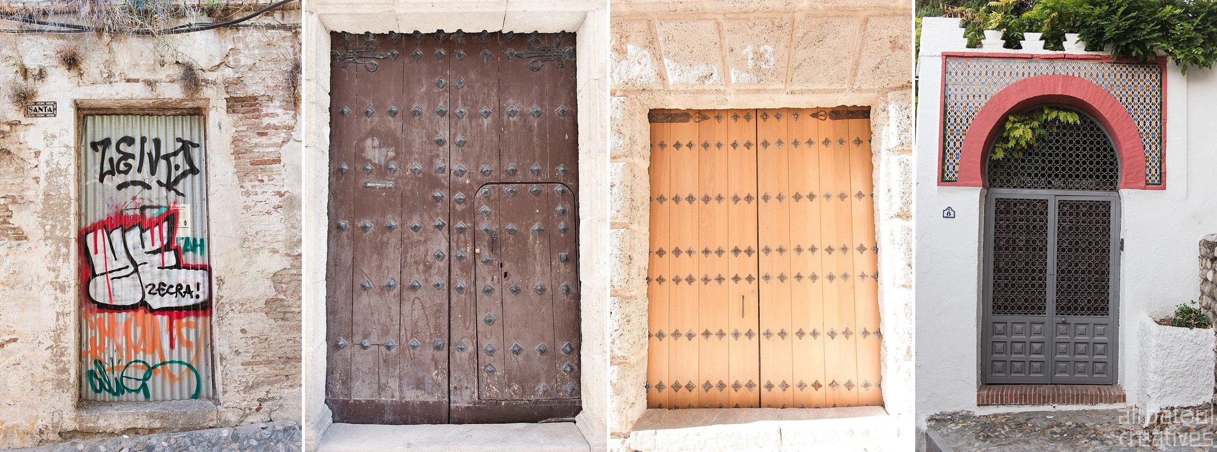 Doors of Granada.