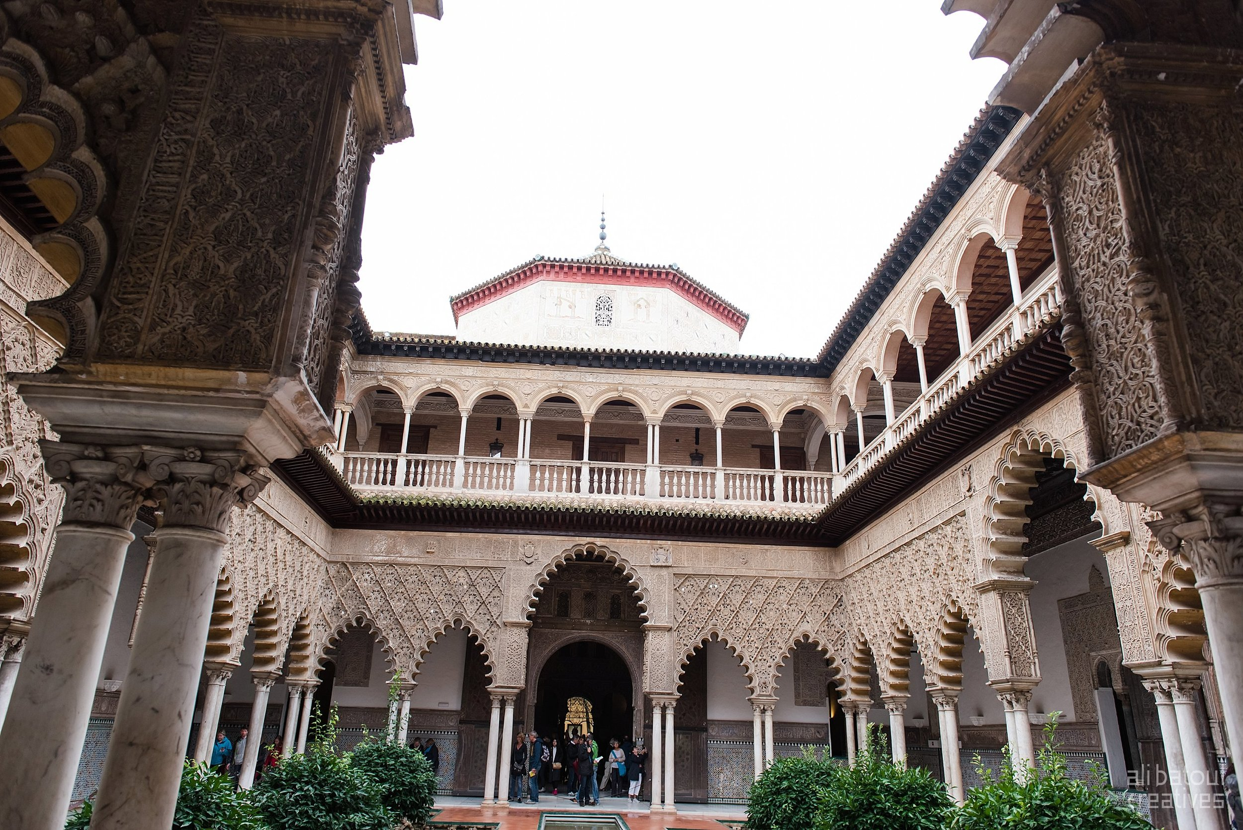 Day 2 of our Seville adventures began at the incredible Alcazar.