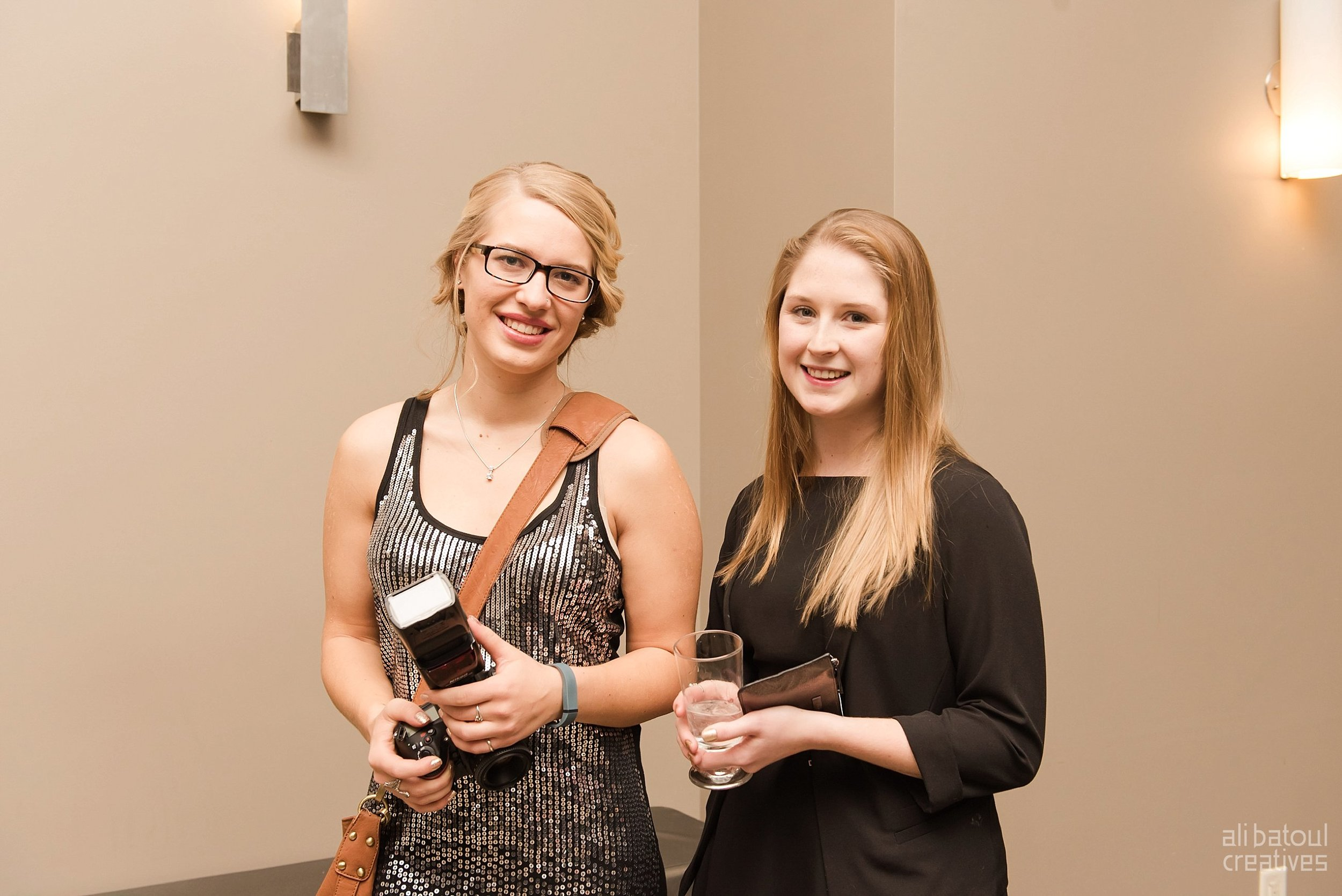 Photographed alongside Nicole Amanda!