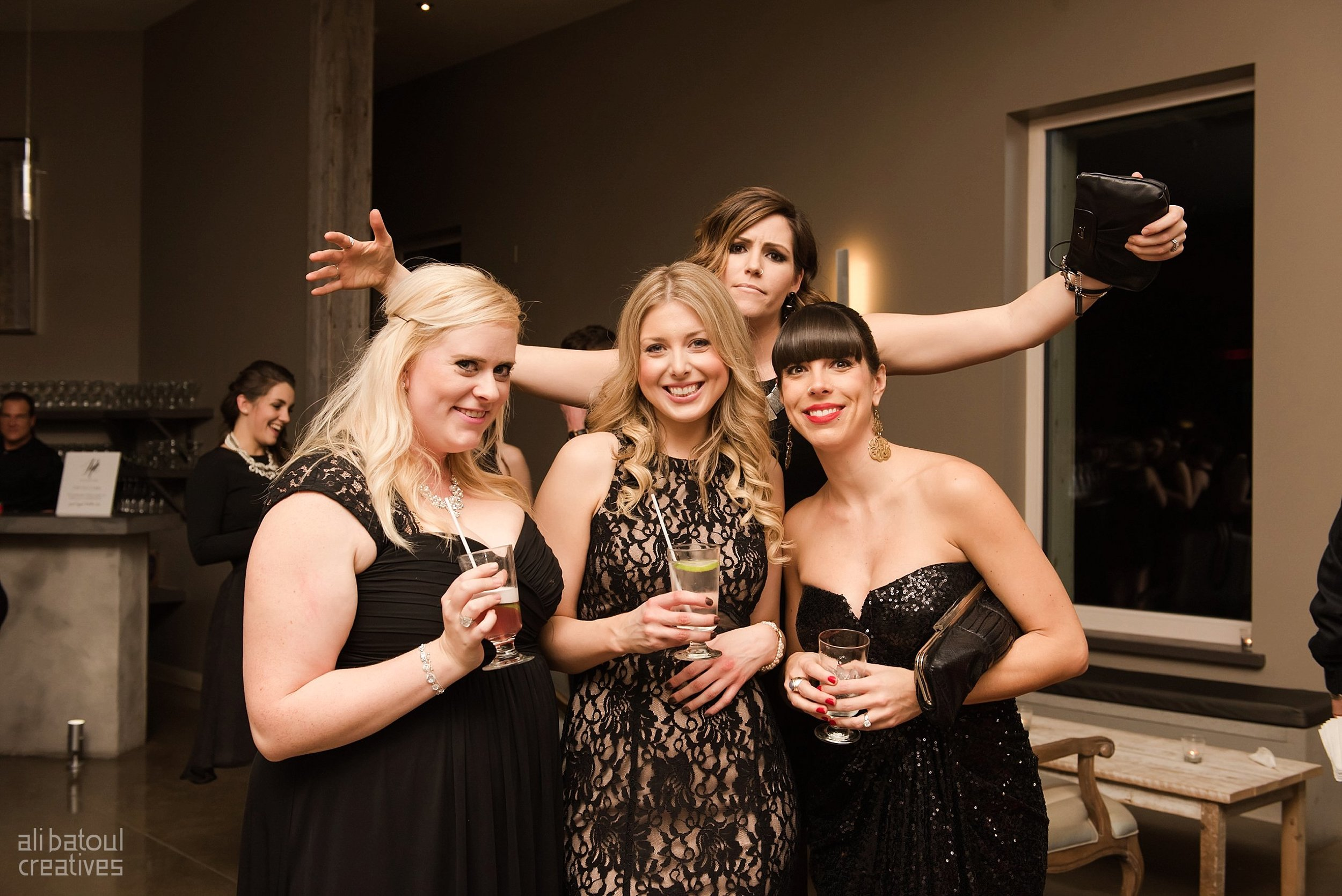 Laura Kelly, Sarah Walsh, Brittany Lee, Ashley Notley. An admirable bunch!