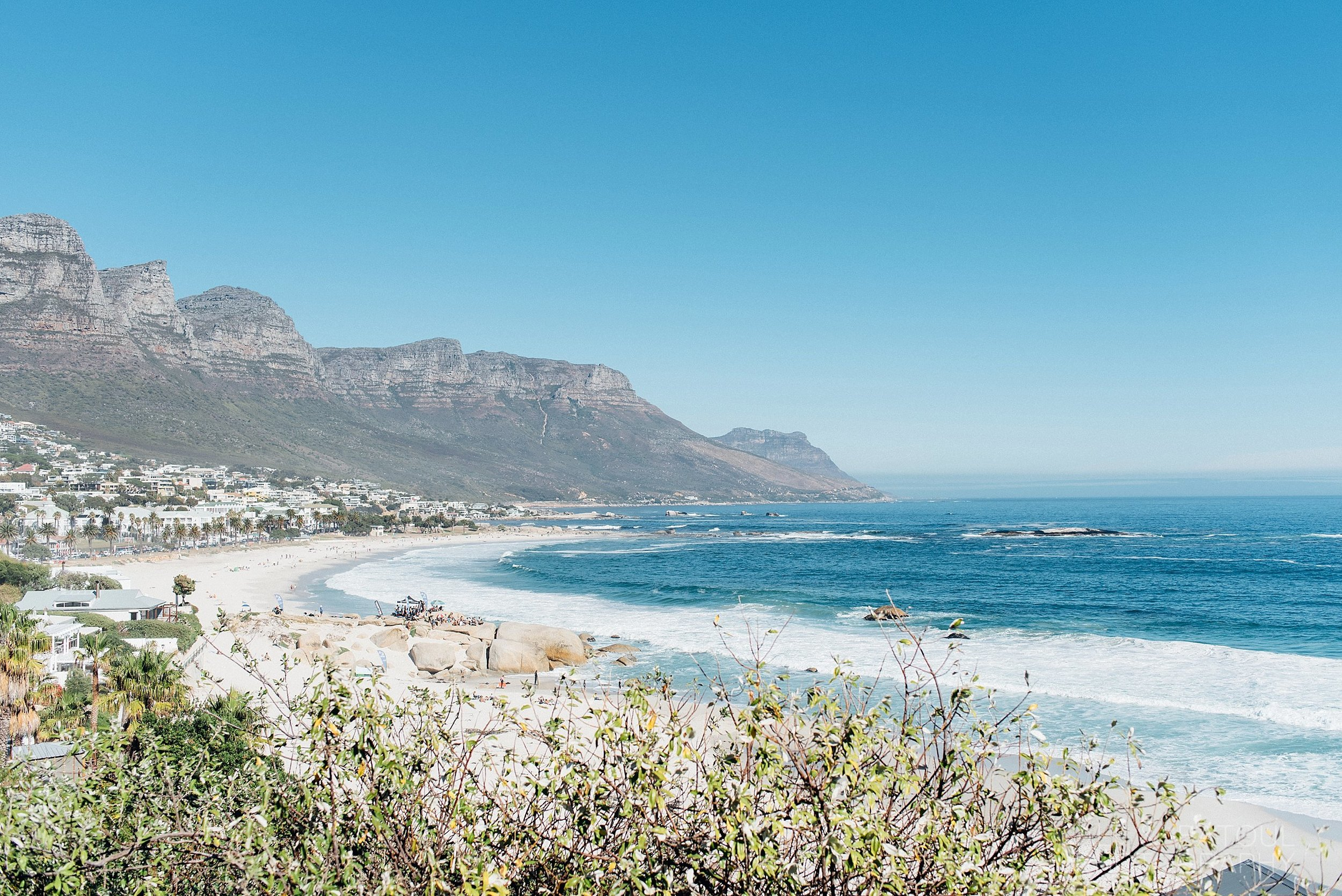 One of the 4 Clifton Beaches! Each one is more beautiful than the next.