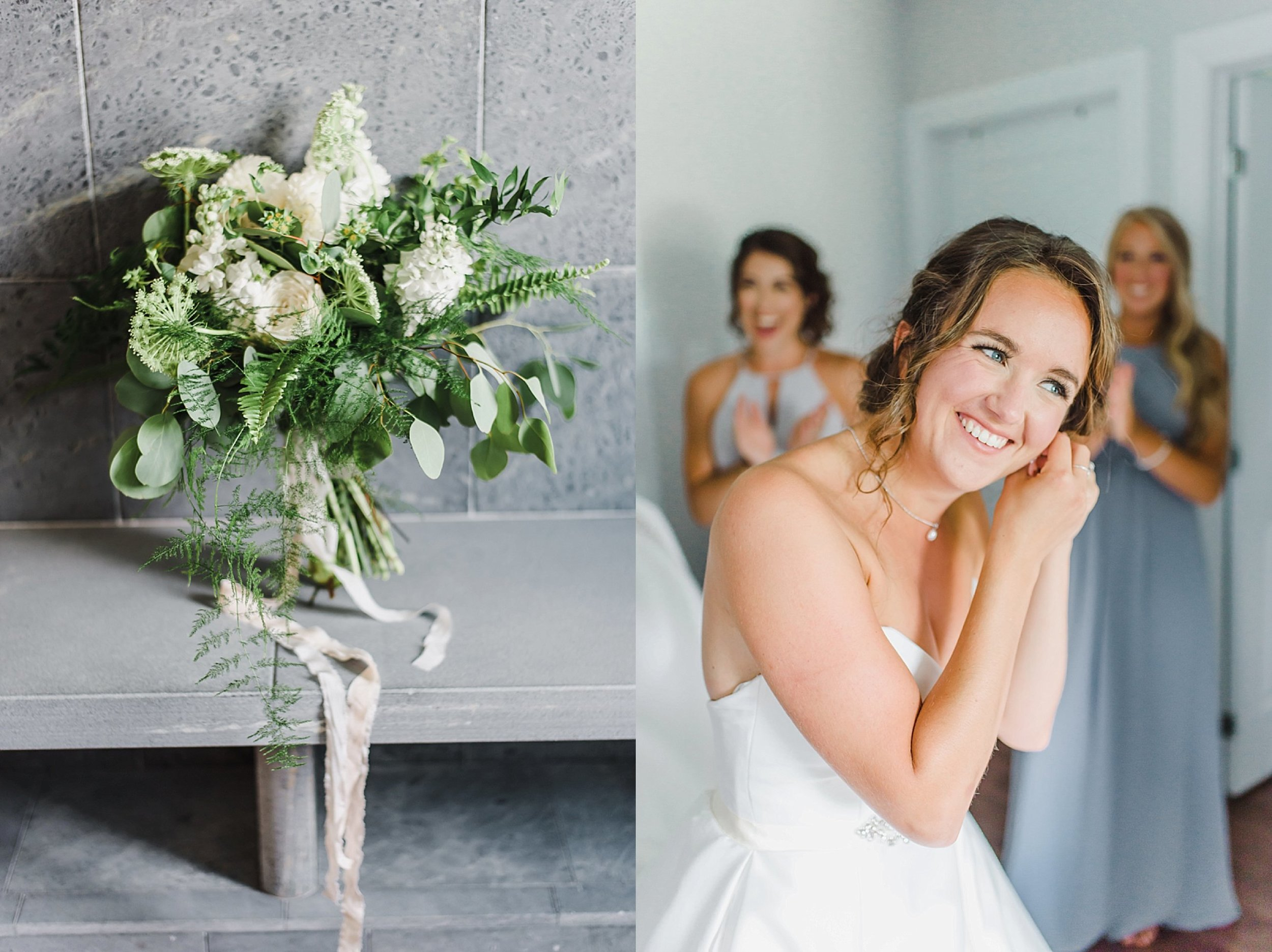 Camille asked me where she could find silk ribbons to give her bouquet an extra fine art aesthetic. I told her to look no further than Christine Breton of Lafabere Weddings.  The simple addition of silk ribbon elevated her look tenfolds!