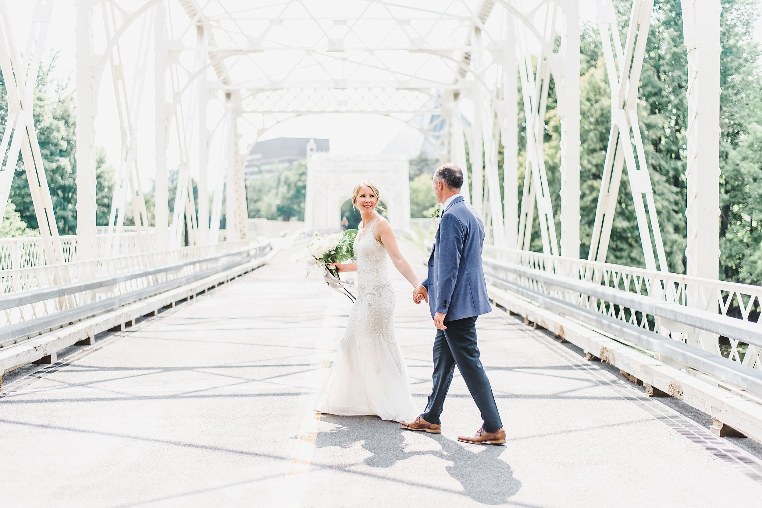 This bridge will always be a beautiful spot for photos!