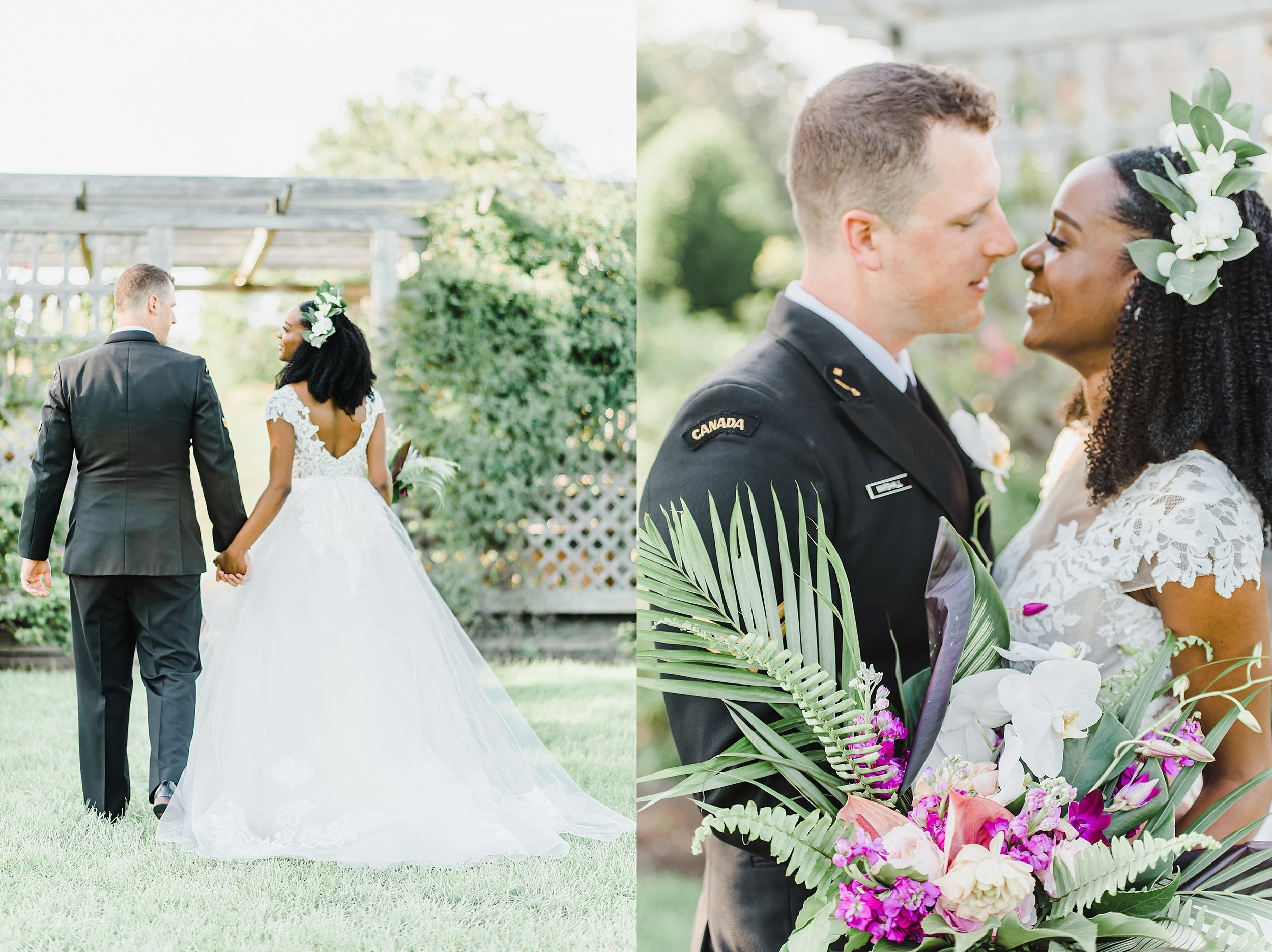 We had a few minutes left to capture my absolute favourite part of the day, the bride and groom portraits.