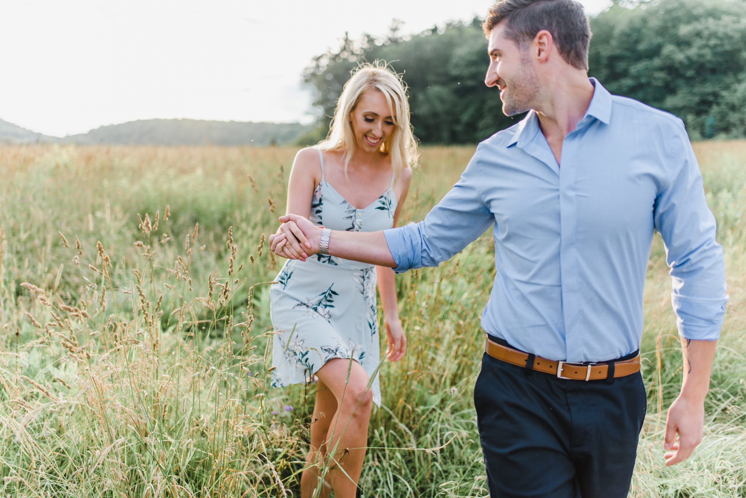 Kaylea + Chris Wakefield Engagement Shoot | Ottawa Light and Airy Wedding Photographer-78.jpg