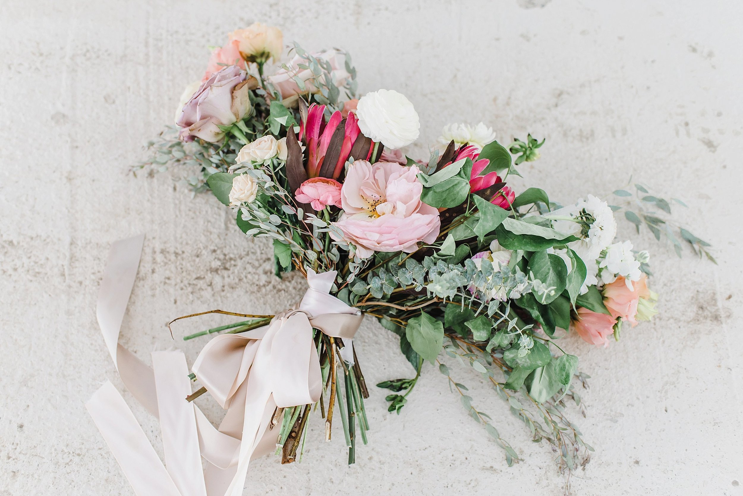 With the help of Frid Events, Genevieve and Jason elevated the typical rustic barn wedding to a luxurious, wild-flowered garden delight!  One of my favourite colour palettes ever.  Their full  French countryside wedding  can be seen here.