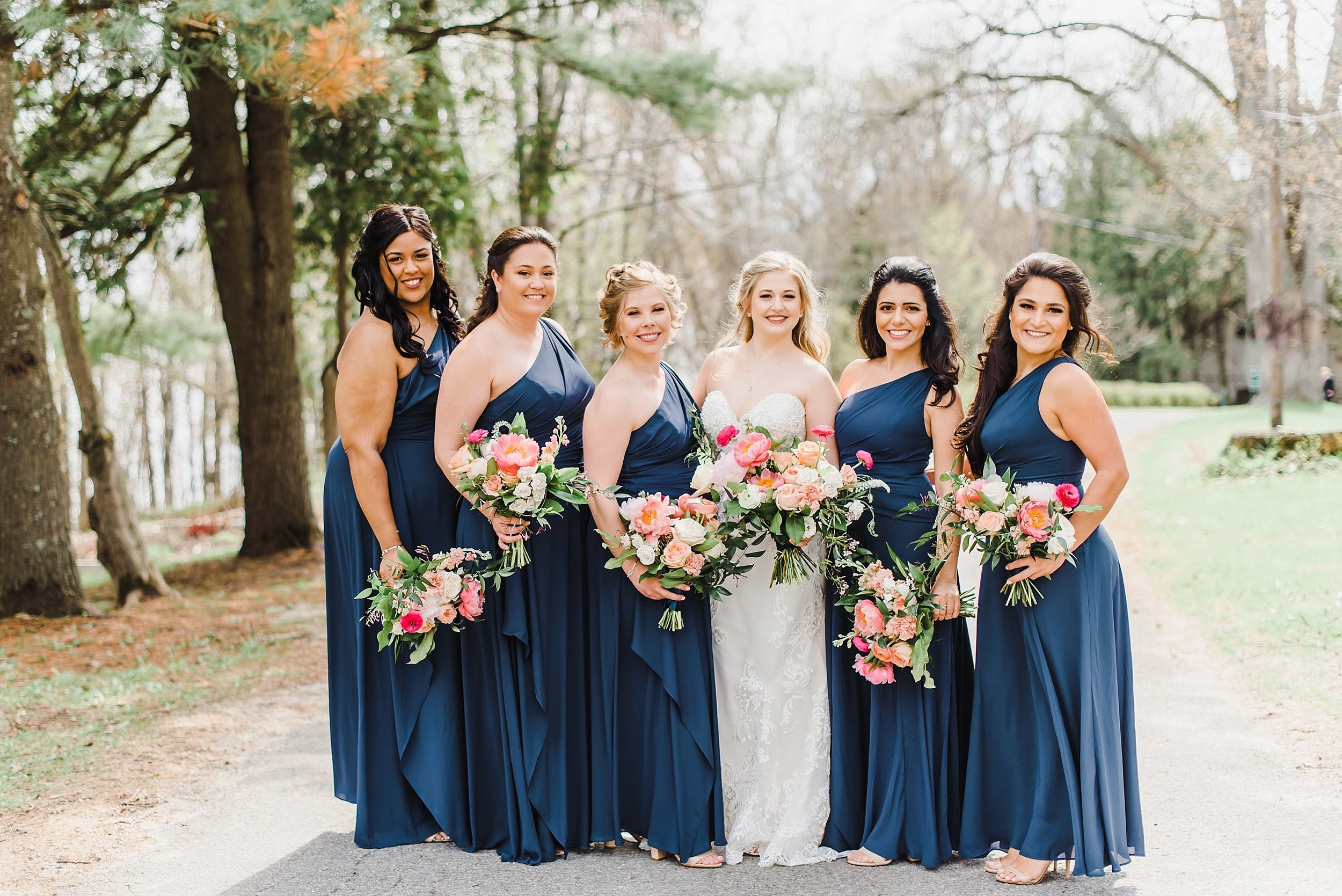 Aren't these bridesmaids the most beautiful you've ever seen!?