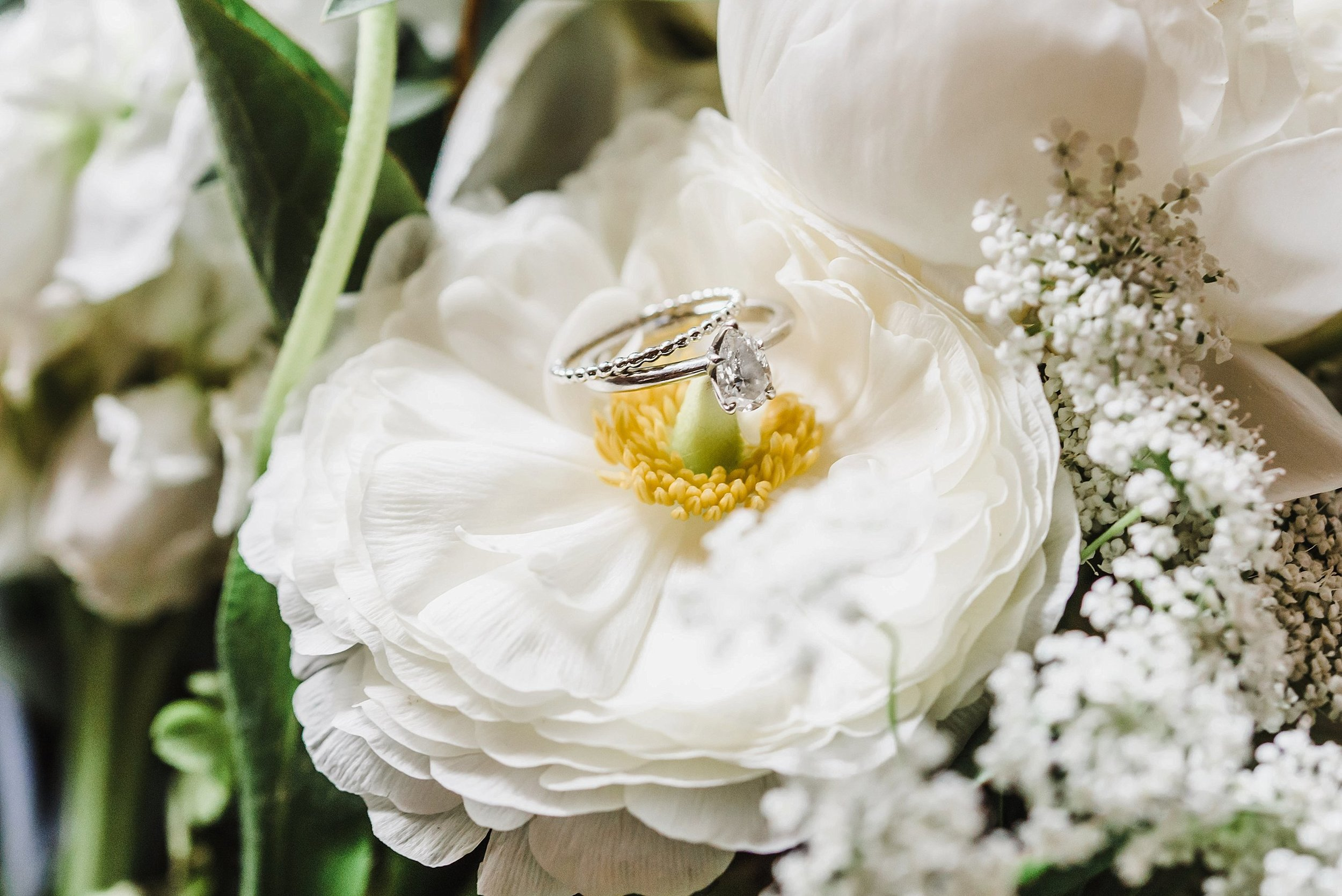 This pear-shaped diamond engagement ring was a show stopper!  So of course, I photographed it at every opportunity I got.