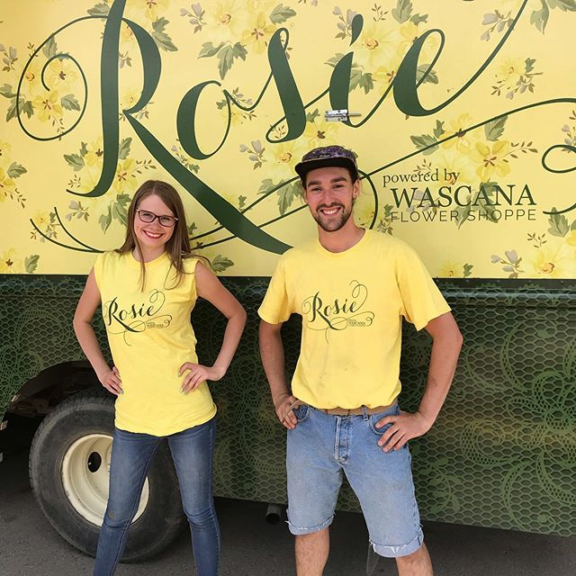 Thank you Regina for coming to see us today @reginafarmersmarket