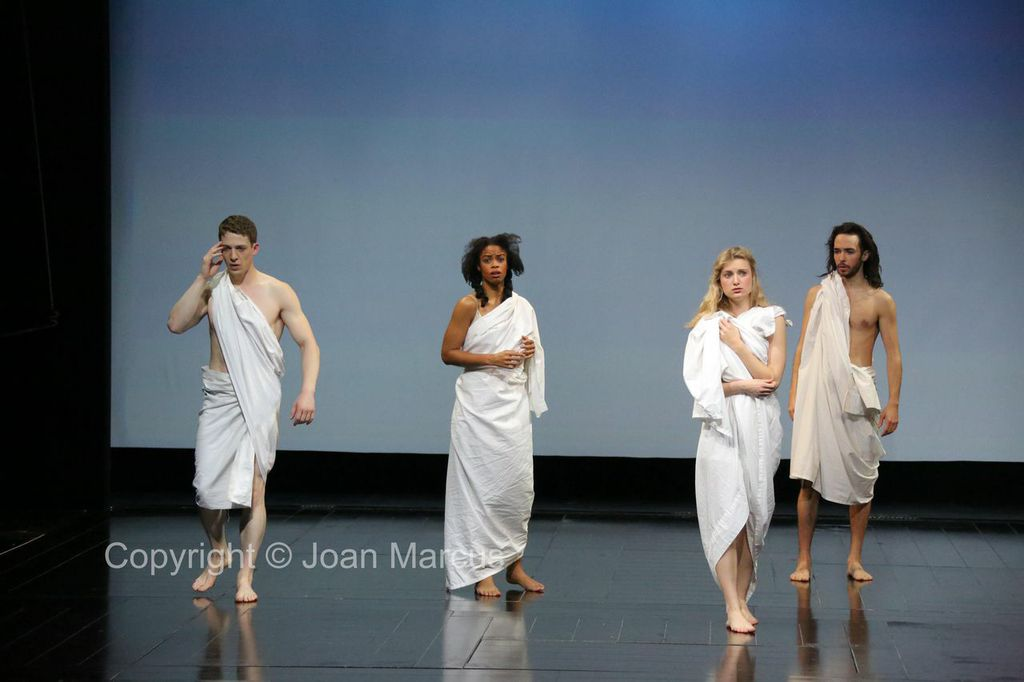 As Helena in 'A Midsummer Night's Dream'.Photo by Joan Marcus.