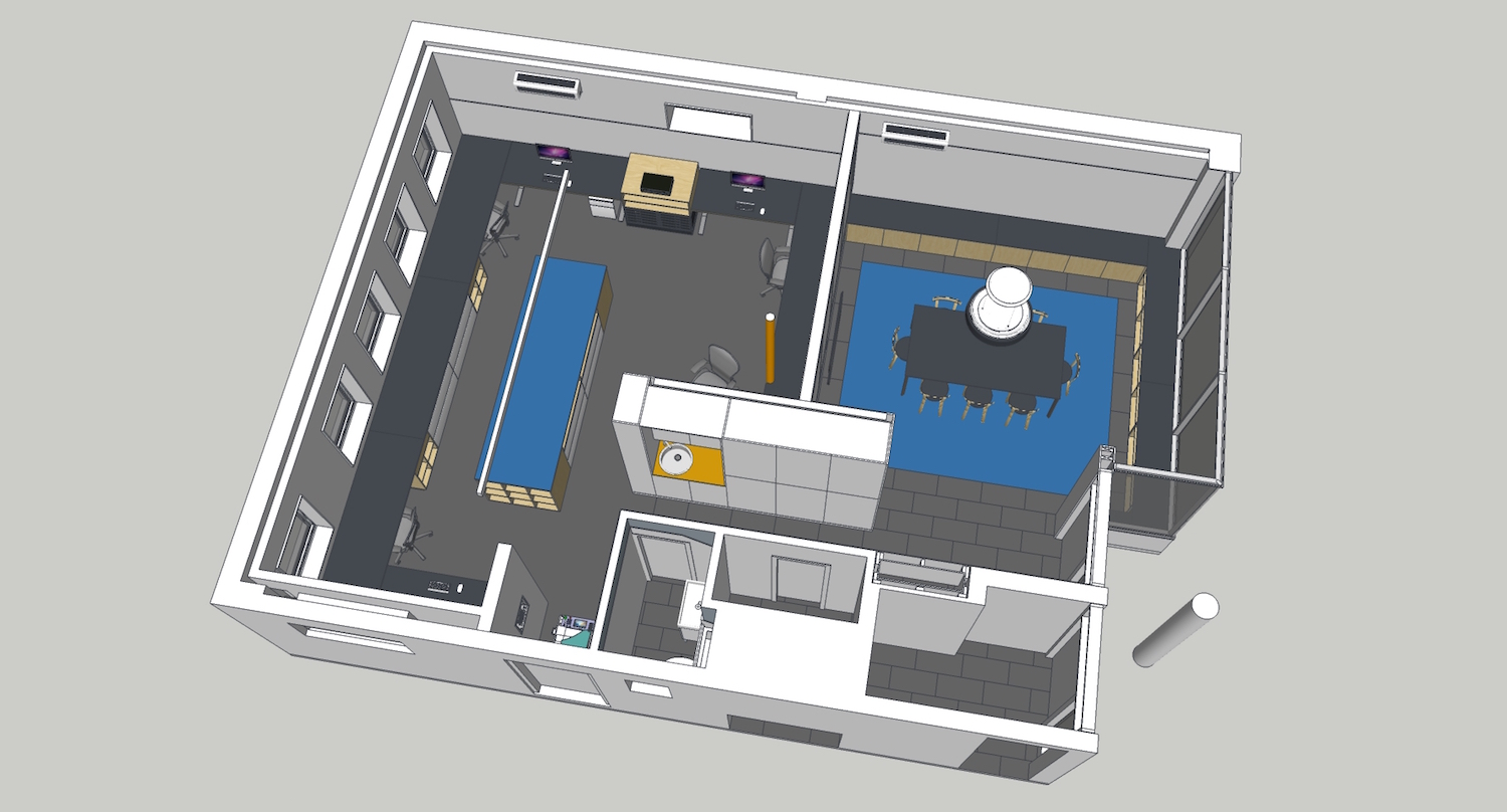 Model View - New MSA Office