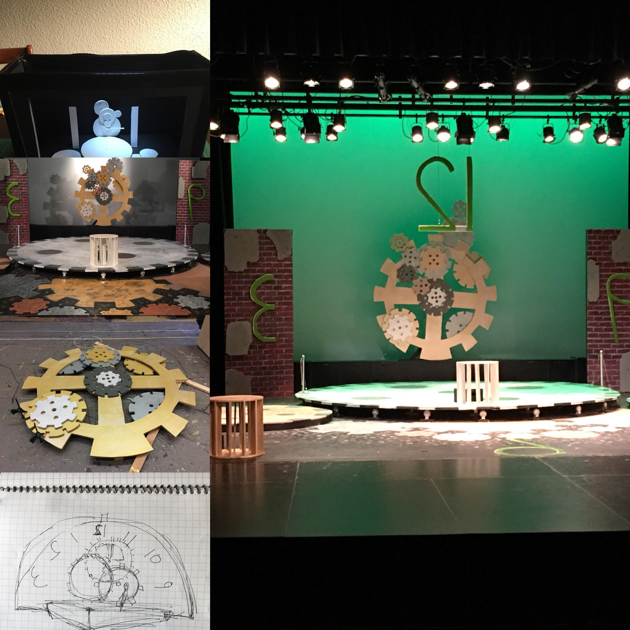 Radium Girls: Designed by Nathaniel Patterson. Technical Director Nathaniel Patterson