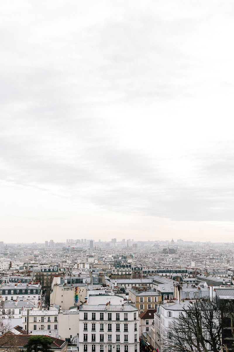The view from the Sacré-Cœur, Montmartre, Paris - A Paris Guide