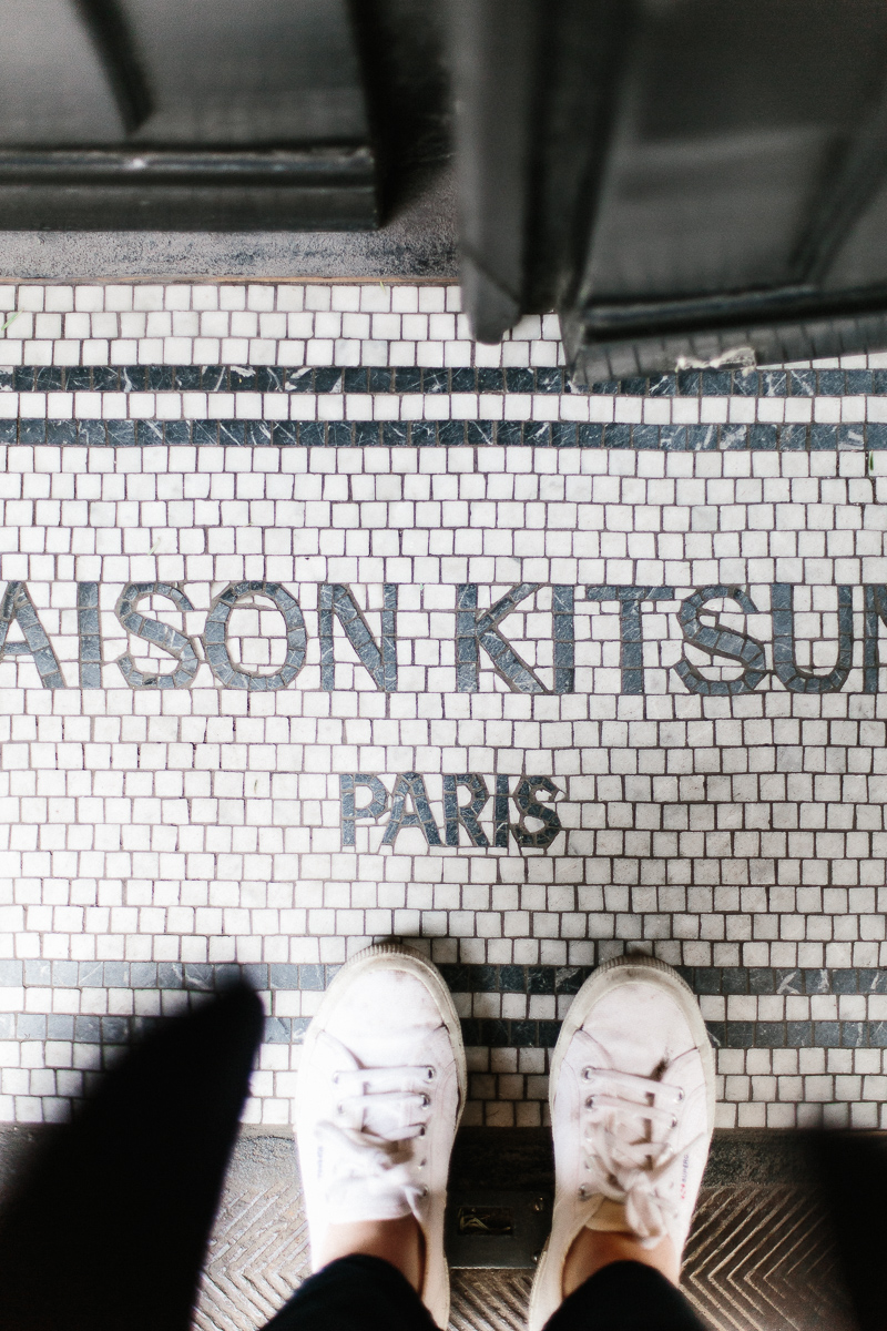 Maison Kitsuné, Palais Royal, Paris - A Paris Guide