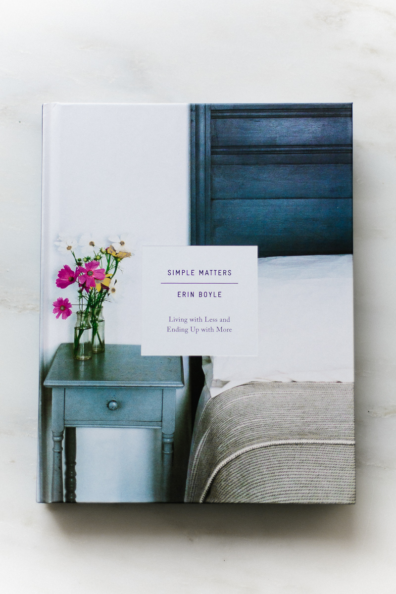 Library | 001 | Simple Matters by Erin Boyle | Freckle + Wulff