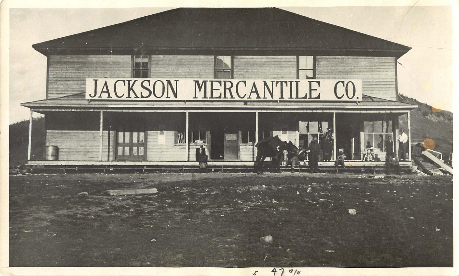 Jackson Merchantile Co. circa 1905