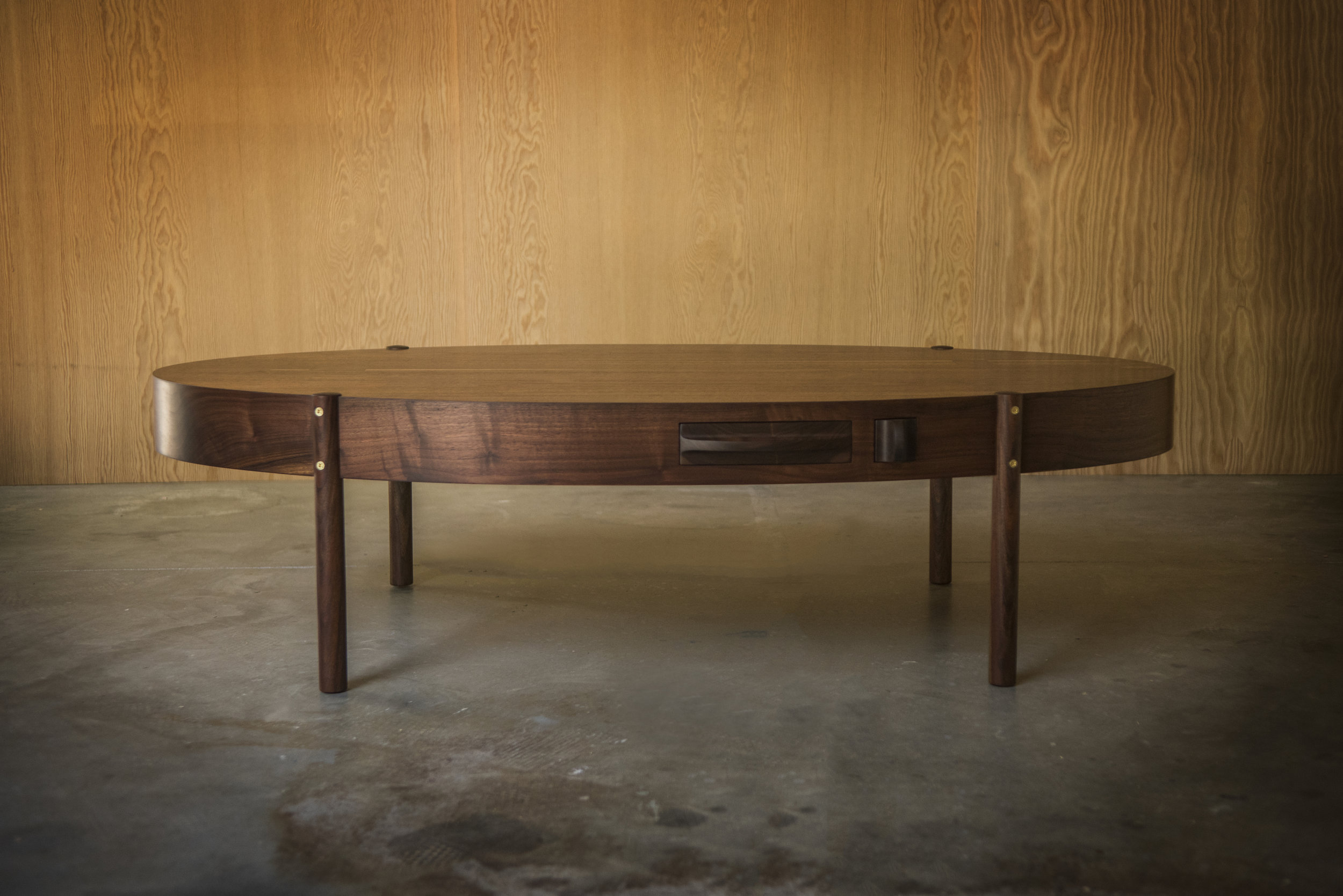 Phillips Oval Coffee Table