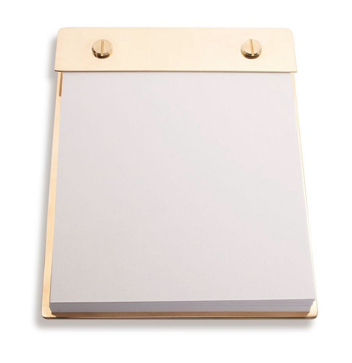 Brass Note Pad