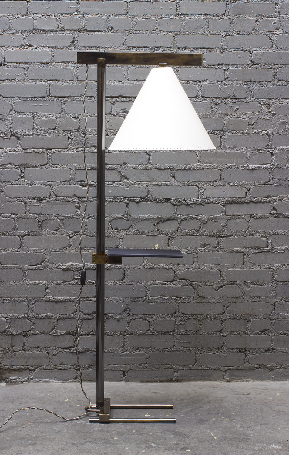 Series 02 Floor Lamp + Tray