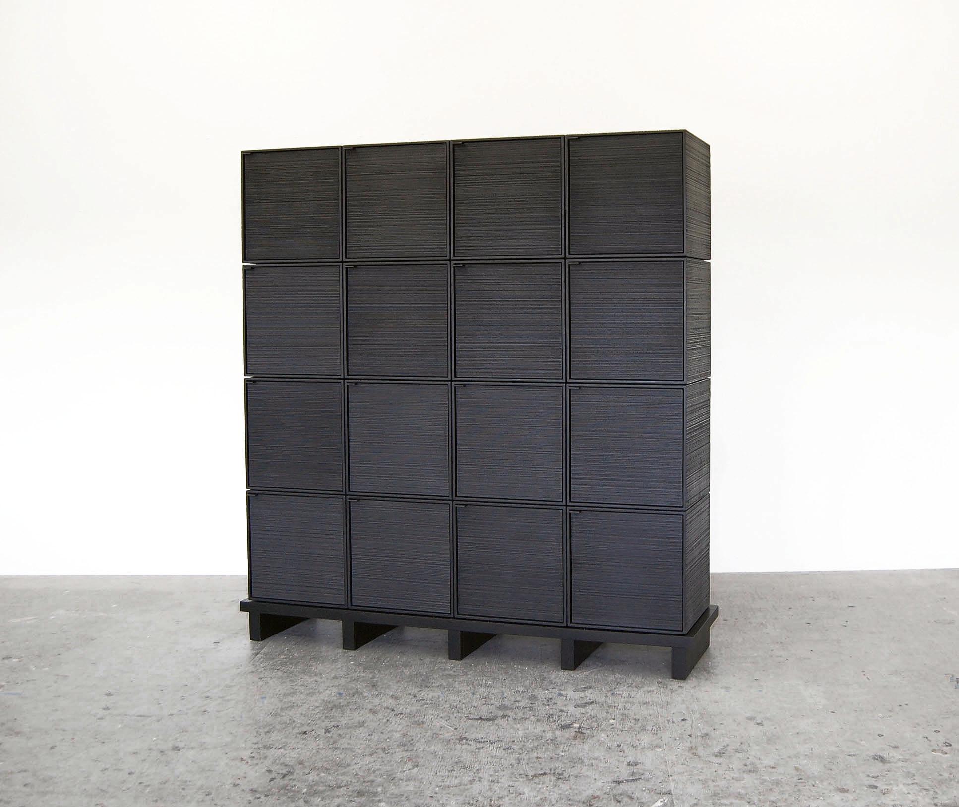 16 Cubes Cabinet
