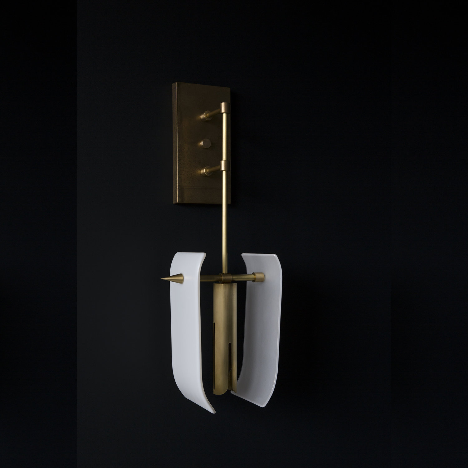 Toro Sconce - Glass