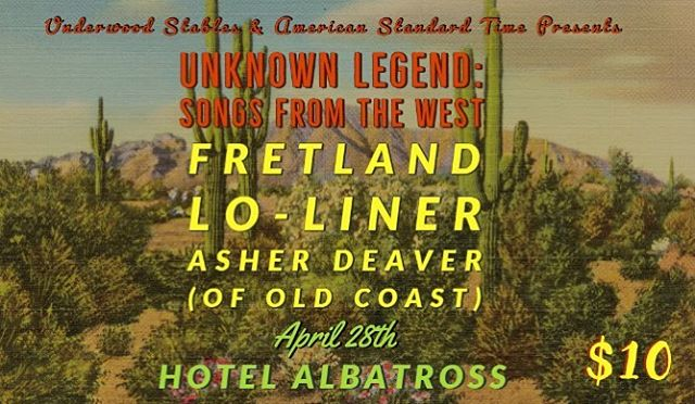 This Sunday! We're playing some songs we don't always play and we are so excited that @american_standard_gram and @awinterhalter @hawthorneunderwoodstables invited us to join this bill of great musicians! @hotelalbatross Hope to see you out there!
