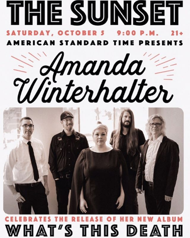 Super excited to be playing this show for @awinterhalter album release....going to be so, so great. Oct. 5th at @thesunsettavern