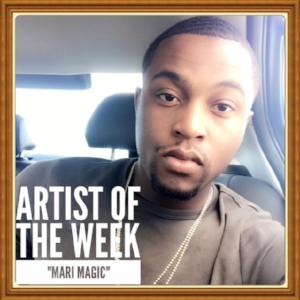 "(September 24, 2017) Number 1  #SongOfTheWeek  ""Jealous"" by  Mari Magic   Location:  Baltimore, MD"