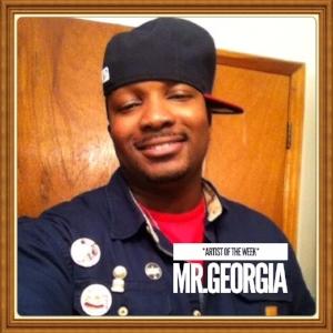 "(November 19, 2017) Number 1  #SongOfTheWeek  ""Good Day"" by  MR.GEORGIA   Location: Atlanta, Georgia"