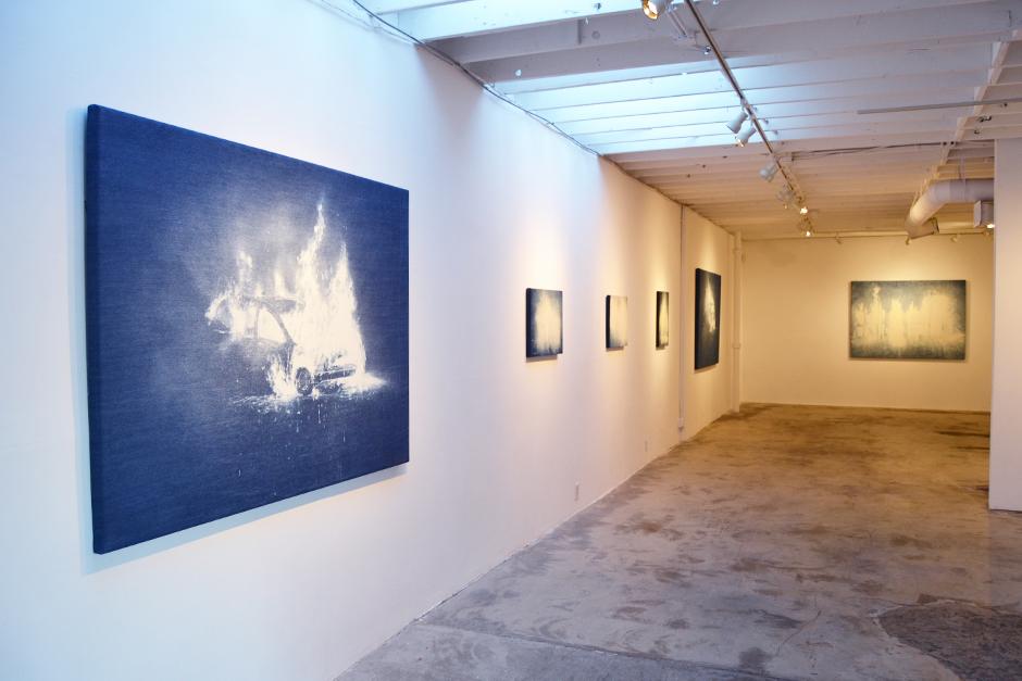 Installation view at Paul Loya Gallery, Los Angeles, 2015