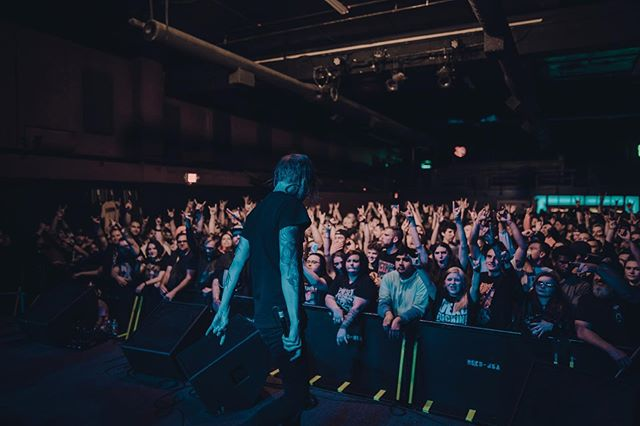 Saying these shows have been sick would be an understatement. If you haven't purchased tickets to the #eternalnightmare tour you're missing out! Fort Collins up next. ⠀⠀⠀⠀⠀⠀⠀⠀⠀ 📸@caaalebarnaud