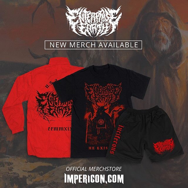 Europe and UK we just released some brand new merch on our @impericon We also have a few Luciferous album art related items as well. Grab yours soon! Shop through the Impericon link on our website (link in bio) or 👇🏼 ⠀⠀⠀⠀⠀⠀⠀⠀⠀ http://smarturl.it/EnterpriseEarth-UKEU