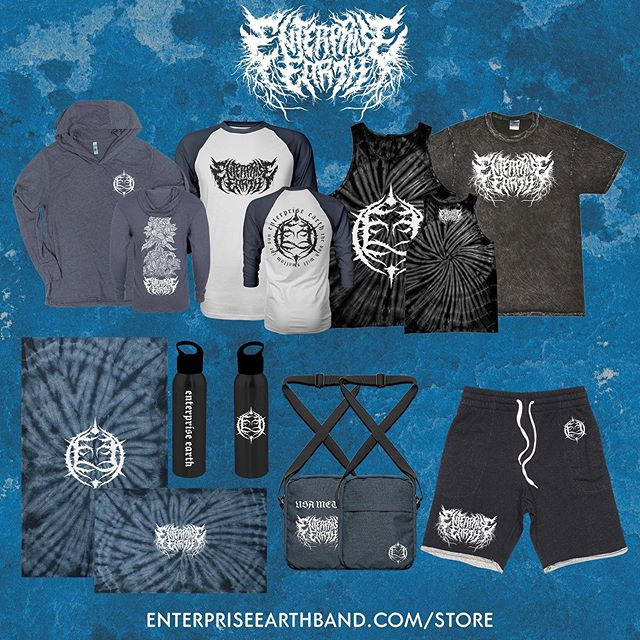 Happy Friday USA and North America, our summer merch line is here. Click our bio to shop or head to: ⠀⠀⠀⠀⠀⠀⠀⠀⠀ enterpriseearthband.com/store