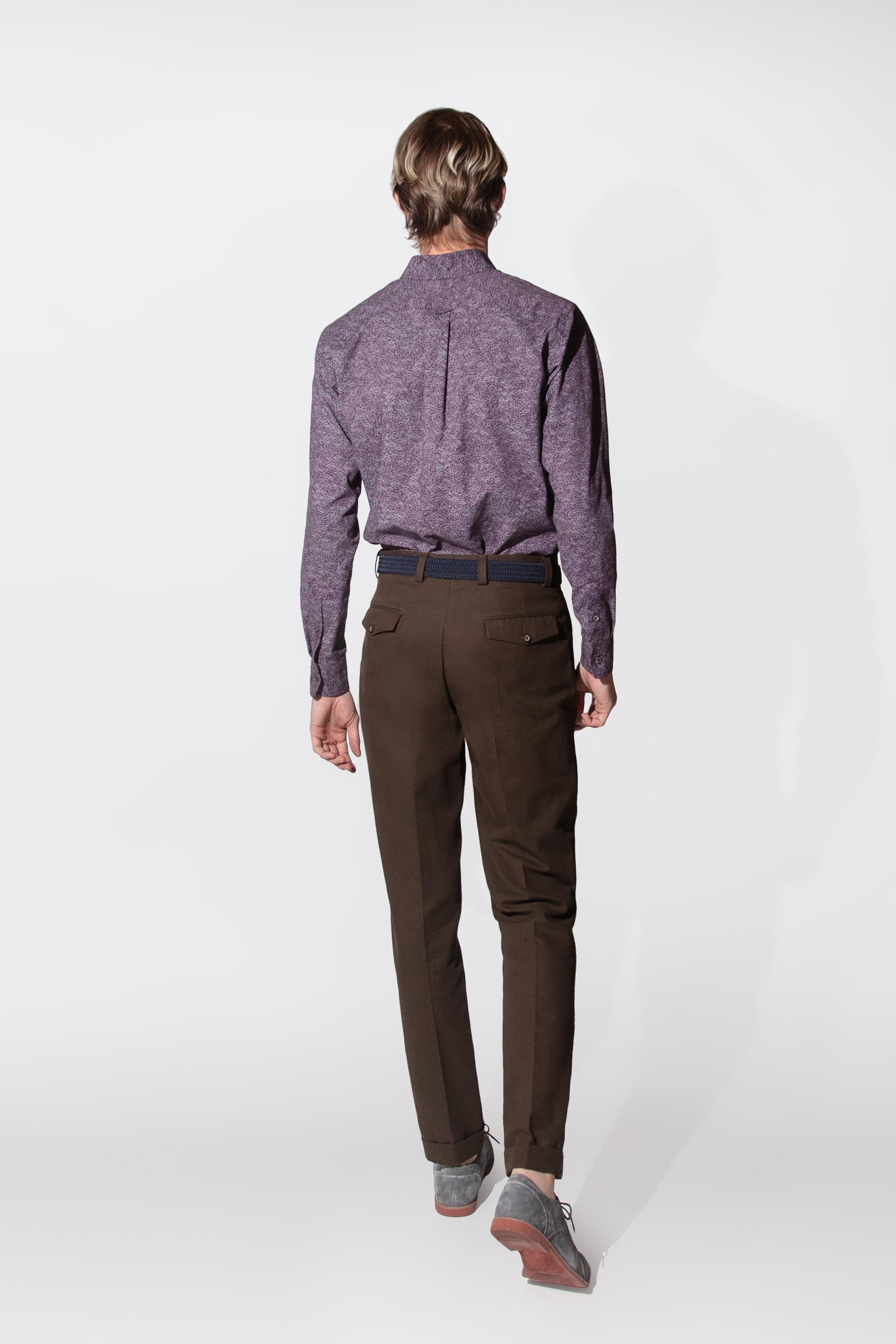cotton twill trouser $225