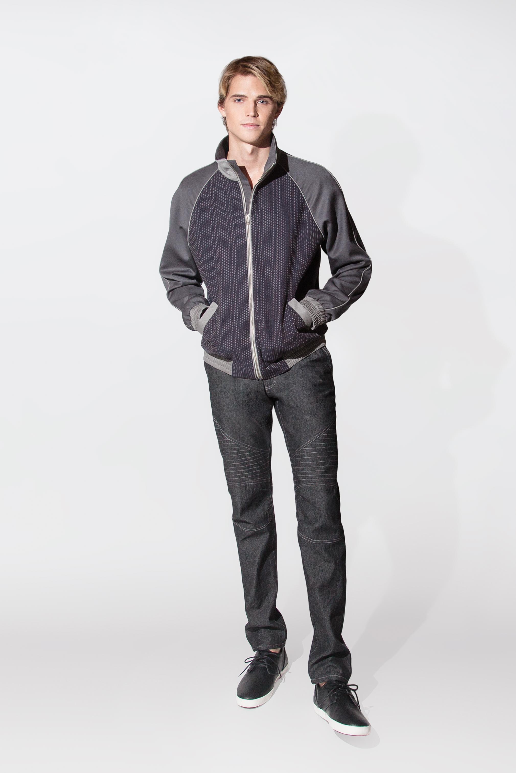 cotton & wool jacket $750
