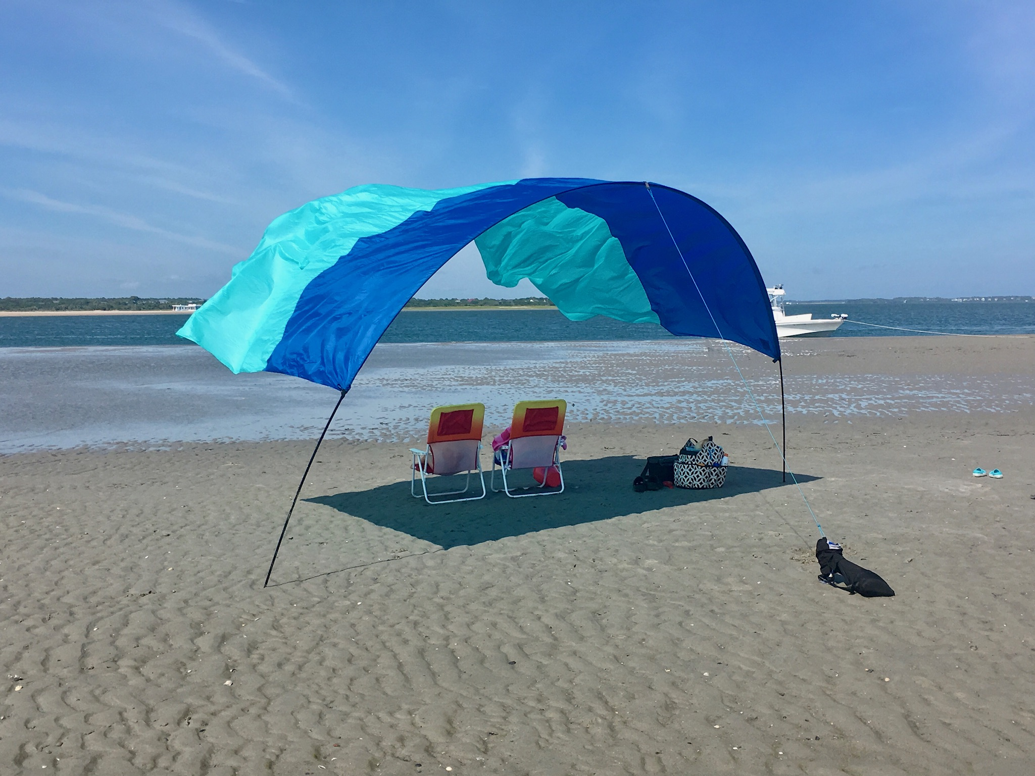 beach shade shibumi portable beach canopy