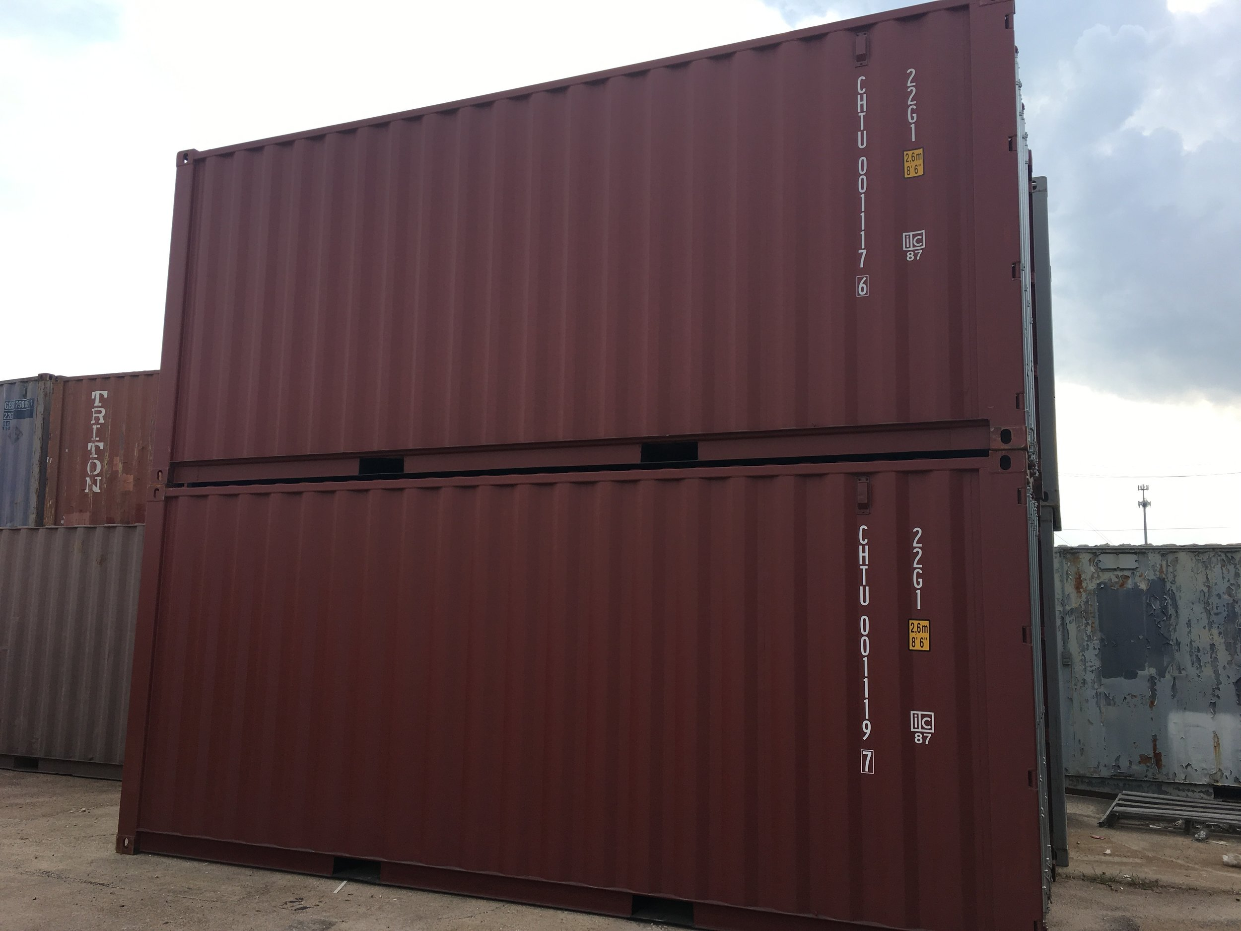 New CHTU containers