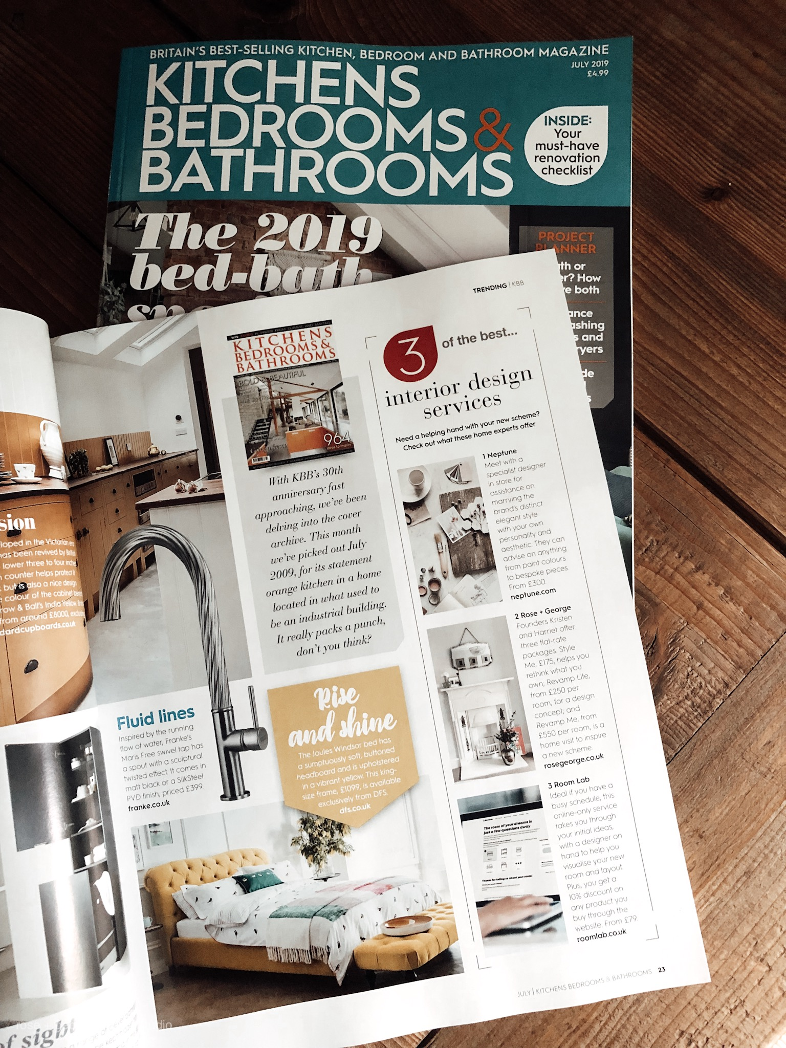 Kitchens Bedrooms & Bathrooms Magazine - Trending + News: July 2019 Issue