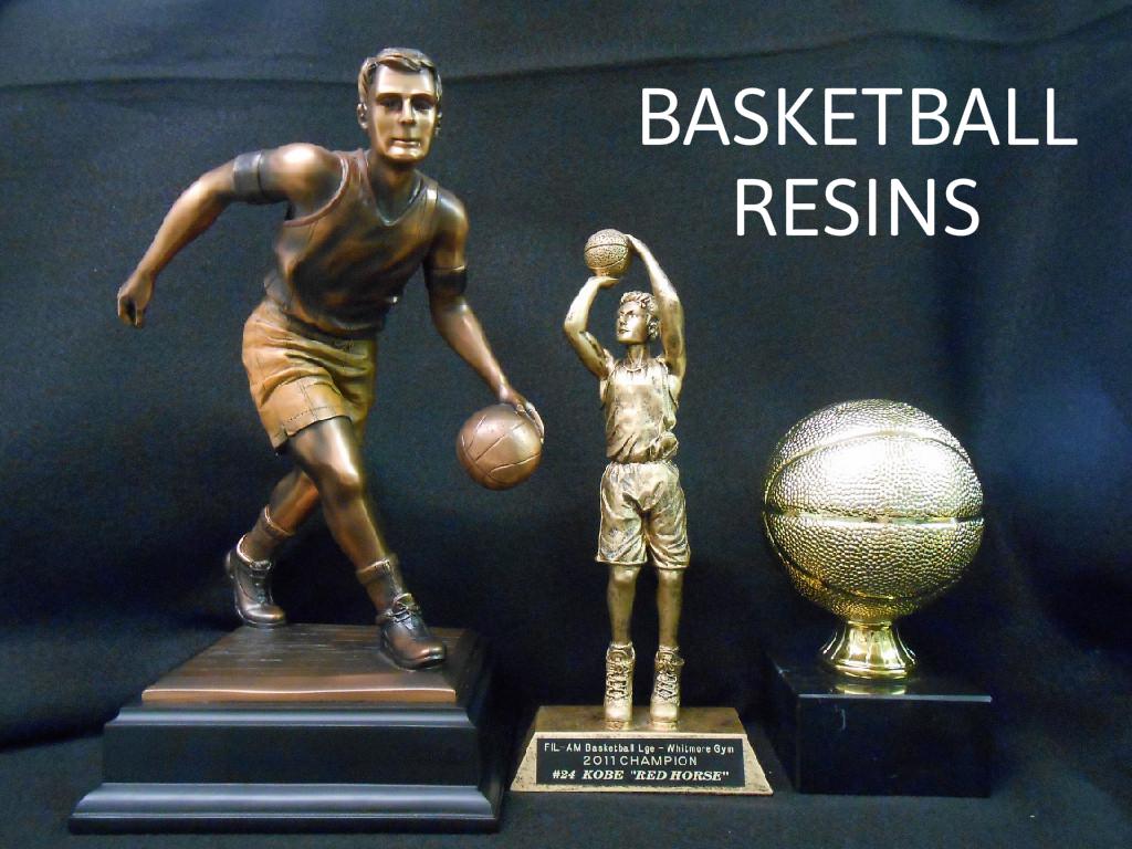 BASKET BALL RESIN 1  - 112.00,  BASKETBALL RESIN  29.00,  SMALL GOLD BASKETBALL  - 47.00