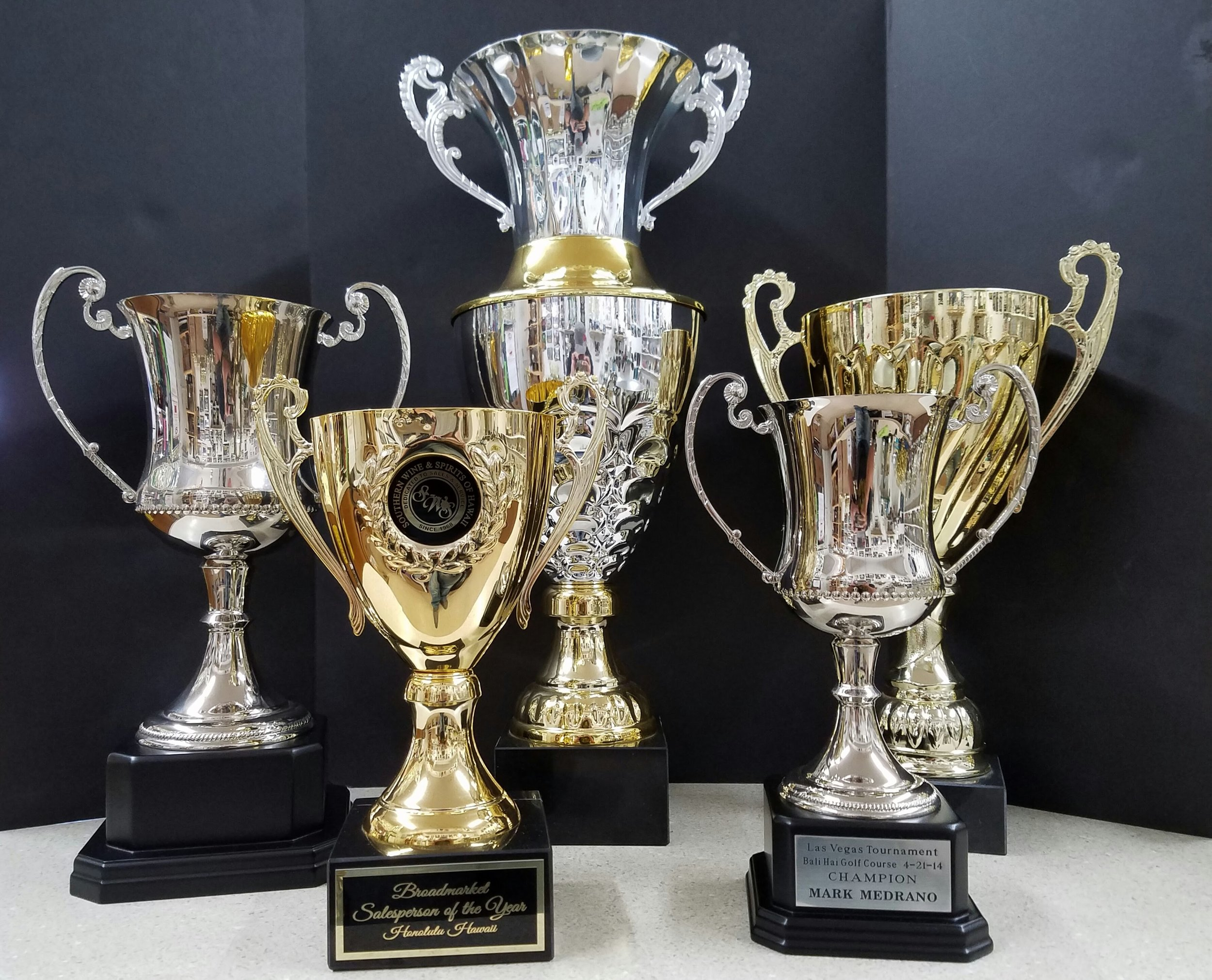 """SILVER CUP 1  (16"""") - Sold Out,  GOLD CUP 1  (13"""") - 149.00,  BIG CUP  (24"""") - 270.00,  SILVER CUP 2  (13"""") - 139.00,  GOLD CUP 2  (17"""") - 122.00"""