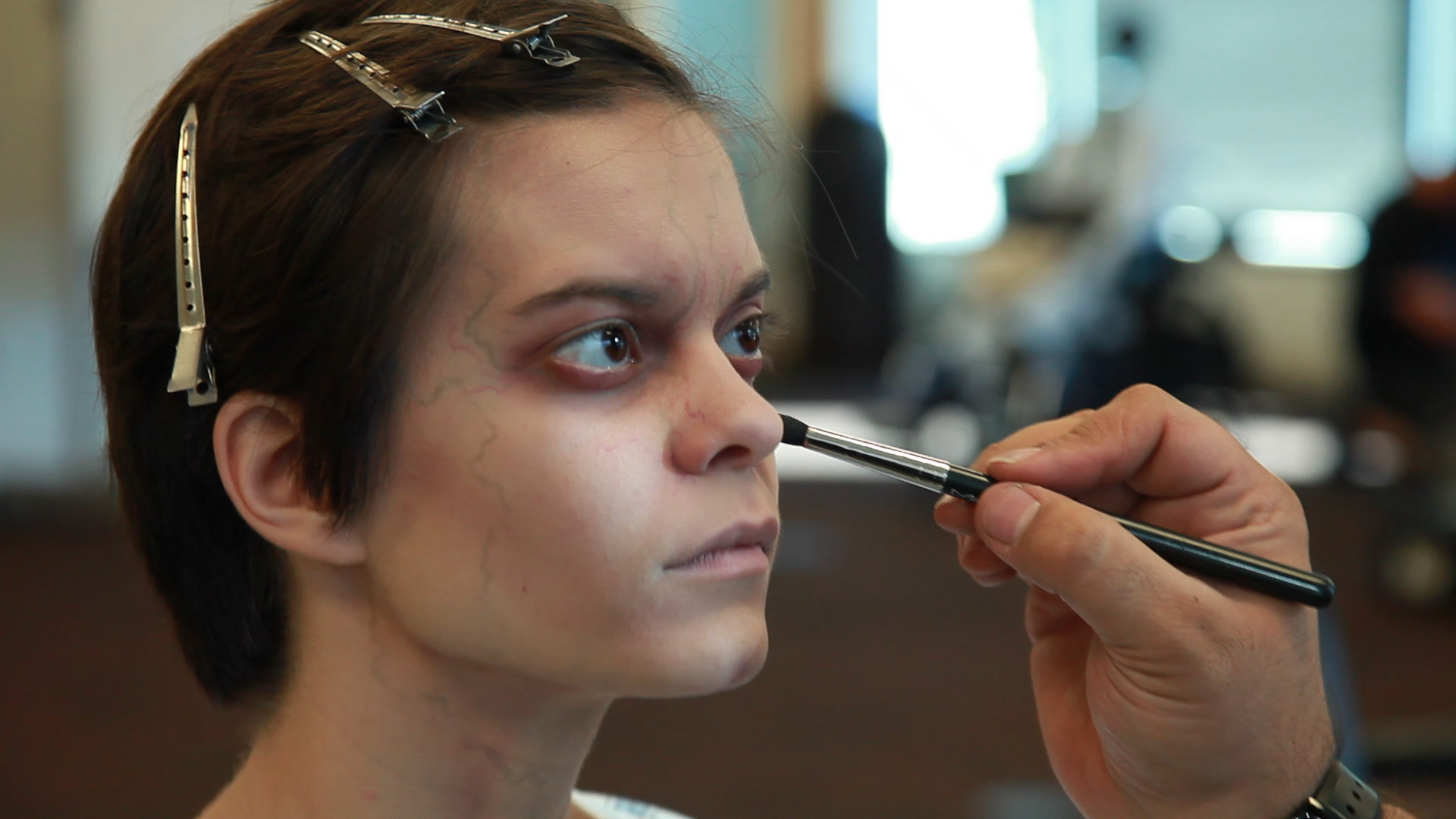 (BTS Series) (Actress Emily Hinkler prepares for scene).png